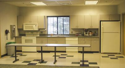 View of Community Room Kitchenette